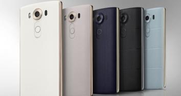 LG V10, el móvil con dos pantallas