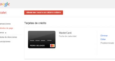Cambiar método de pago en Google Play