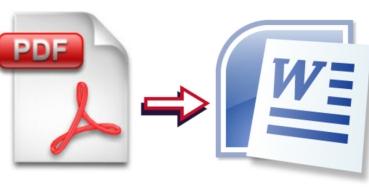 Convierte de PDF a Word online