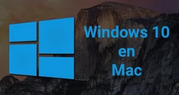 Cómo instalar Windows 10 en Mac