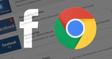 5 extensiones para usar Facebook en Chrome