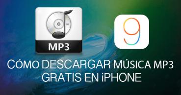 Cómo descargar música mp3 gratis en iPhone