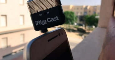 Review: iRig Mic Cast, un micrófono ultra compacto para tu smartphone