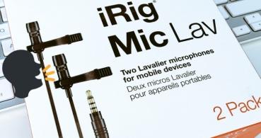 Review: iRig Mic Lav, el micrófono de solapa mas completo en movilidad