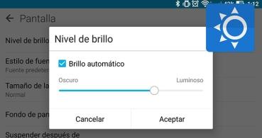 Cómo bajar el brillo de la pantalla más de lo permitido en Android