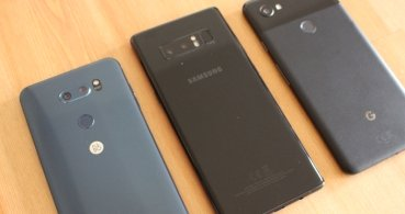 LG V30 vs Galaxy Note 8 vs Pixel 2 XL: ¿Cuáles son las diferencias?