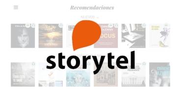 ¿Qué es Storytel?
