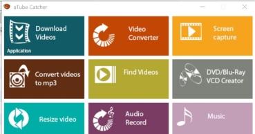 aTube Catcher, descarga vídeos de YouTube