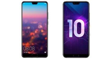 Honor 10 vs. Huawei P20: ¿Cuál comprar?