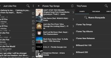TinyTunes, descarga y escucha música gratis en Android