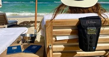 FlexSafe, la bolsa para guardar tus cosas en la playa