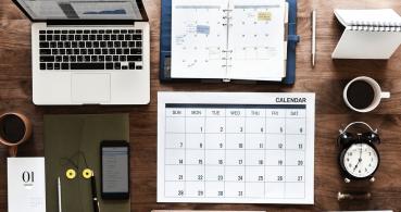 8 plantillas de calendario del año 2019