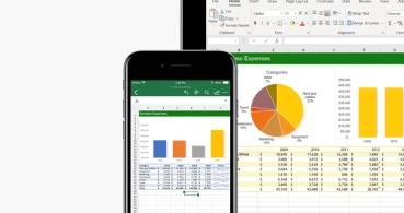Cómo insertar datos desde imagen en Excel desde iOS y Android