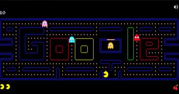 Cómo jugar a Google Pacman