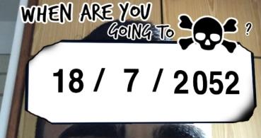 Cómo poner el filtro con la fecha de tu muerte en Instagram