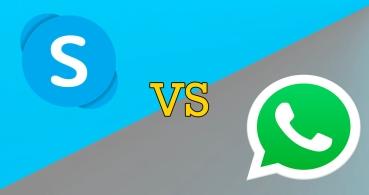 ¿Es mejor WhatsApp o Skype?