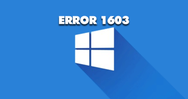 Cómo solucionar el Error 1603 en Windows