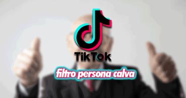 Cómo poner el filtro de persona calva en TikTok o Snapchat
