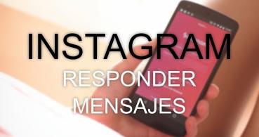 Cómo responder mensajes en Instagram