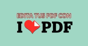 Cómo editar tus PDF gratis