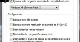 Ejecutar programa no compatible con Windows Vista