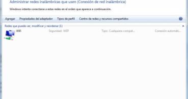 Guardar la configuración de la red WiFi en una unidad USB