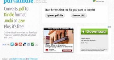 Cómo convertir de PDF a formato MOBI