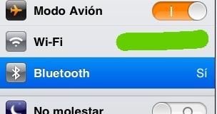Cómo activar Wi-Fi y Bluetooth en un iPad en modo Avión