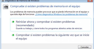 Cómo comprobar el estado de la memoria RAM en Windows