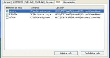 Consultar y configurar programás que se inician con Windows