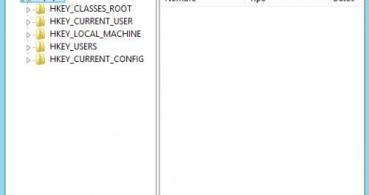 Cómo crear una copia del registro en Windows 8