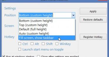 Cómo recuperar la barra de tareas en la pantalla de Inicio en Windows 8