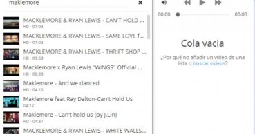 Escucha música en YouTube con Streamus