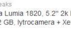 Nokia Lumia 1820 y Lumia 1525, potencia y grandes pantallas