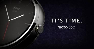 Moto 360, el smartwatch de Motorola ya es oficial