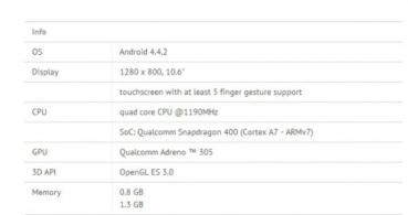 Filtradas las especificaciones técnicas de las próximas Samsung Galaxy Tab 4