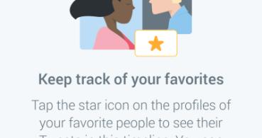 Twitter permitirá leer aparte solo los tweets de tus usuarios favoritos