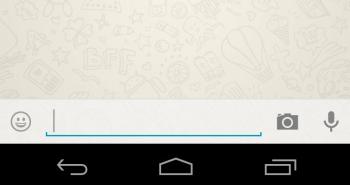 WhatsApp añadirá un botón para enviar fotos directamente