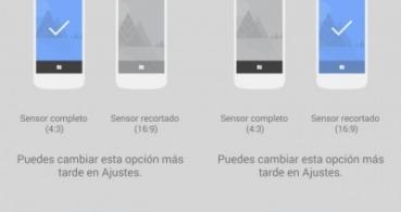 Google Cámara se actualiza con resolución panorámica y temporizador