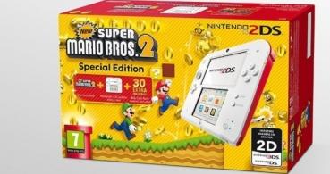 Nintendo lanza el pack Nintendo 2DS con New Super Mario Bros 2 Special Edition