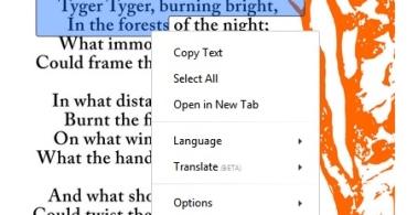 Project Naptha nos permite copiar y editar texto a partir de imágenes