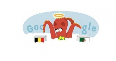 Google dedica su Doodle al fallecido Pulpo Paul
