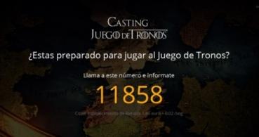 Castingjuegodetronos.com, un fraude basado en el éxito de Juego de Tronos