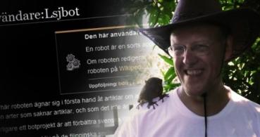 Un hombre escribe 10.000 artículos al día en Wikipedia