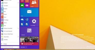 Se filtra el menú Inicio del próximo Windows