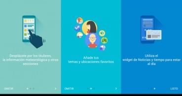 La app Noticias y Tiempo se renueva completamente en Android