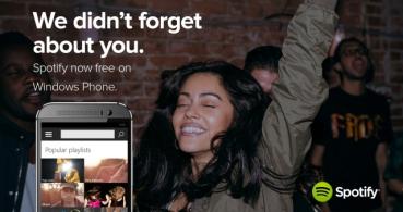 Spotify ya está disponible con streaming gratis en Windows Phone