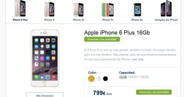 iPhone 6 e iPhone 6 Plus, disponibles en Phone House