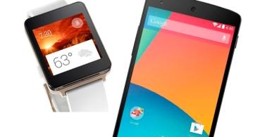 Nexus 5 y LG G Watch en oferta por 80 euros menos en Google Play
