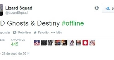 Un ataque DDoS tumba los servidores de Destiny y Call of Duty